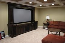 Basement Media/theater room
