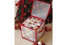 Decorations Bauble organise Storage Box Plastic Box
