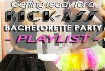 Bachelorette Party Playlists / If you have a bachelorette party but don't play one of these ~*fabulous*~ bachelorette party playlists, did you really even have a bachelorette party?