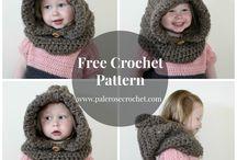 crochet hoodie pattern free