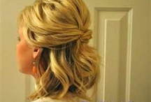 Beautiful hair / Up do, curly, etc.