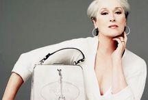 My style - Icons / le donne che amo, che hanno accettato il passare del tempo, acquistando fascino anziché perderne, che hanno lasciato un segno nel tempo