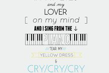♥Song quotes ♥