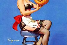 Pinup Halloween Love / by Ms Scarlett Makeup and Hair Artist/Funny Bunny Entertainment