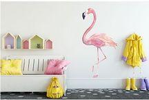 Walldesign56 Muurstickers Kinderkamer / Met deze leuke, vrolijke en speelse muurstickers tover je de kamer van jouw kinderen om in een handomdraai.