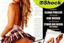 Calendario 2014 con Eliana Pinillos / Eliana Pinillos es la Chica Calendario 2014 de Shock Magazine