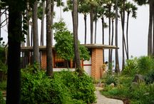 Quiet Healing Center, Auroville / The Spirit Guided Journeys group enjoyed their visit to Quiet Healing Center in November 2014. Such a beautiful, peaceful place right on the ocean.