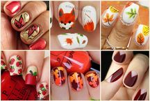 Nail art fall