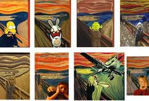Krzyk! - Edvard Munch - The Scream! / Mix for art & fun! :)