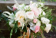 Festival Style Wedding / Festival Style Wedding of R + S Featured on Style Me Pretty  Florals // Molly Taylor and Co. Photography // Studio Elle Photography  Dresses // Something White  Baker // Hummingbird Bake Shop