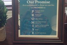 Whetstone Promises / Promises and Service to our staff and residents