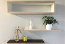 Magical Floating Shelves / We love floating shelves at Cutshop.  Easy to DIY - custom-design your own unique one, or select from our standard range