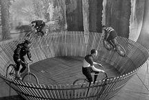 Vintage Cycling / Historie cyklistiky a jízdních kol. Historická jízdní kola a jezdci. / History of cycling and bicycles. Historical bikes and riders.