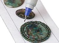 DIY: bead embroidery