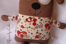Fabric toys for children