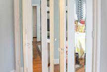 fold up cupboard doors