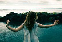 Shooting girl&sea inspiration