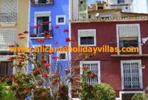 OUT AND ABOUT - Villajoyosa / A pretty town north of Alicante characterised by its colourfully painted beachfront houses