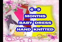 KNİT BABY DRESS FREE PATTERN