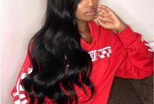 Wavy hairr