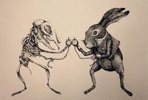 Animal art bones ish / by Sas V
