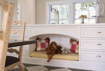 Snuggly Pet Nooks / Cool little snugs for your pets to keep warm.