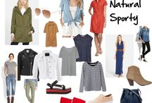 Natural Sporty Style Personality / Friendly and casual, energetic, youthful, happy GOAL: Have Fun