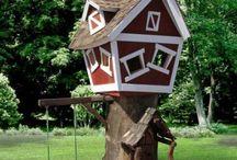 treehouses- Case sull'albero / hometree-case sull albero