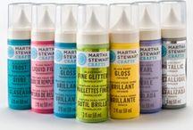 Martha Stewart Crafts / Beautiful products from the Martha Stewart Crafts range.