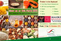 SIAL 2014, Paris-World's no. 1 Food Exhibition. / Shimla Hills announces its participation at SIAL, world's no. 1 food exhibition. The expo will be held at the Parc des Expositions de Paris Nord Villepinte from 19th to 23rd October, 2014 at Stand Number: 5b N 045,Hall No: 5b (Beverages Section) .SIAL Paris celebrates its 50th anniversary this year as the largest event dedicated solely to food industry.