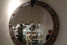 Rustic funky mirrors
