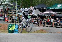 Sam Major #3 / We sponsor local BMX Racer, Sam Major, who represented GB at the World BMX Championships! Awesome :-)