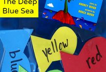 The Deep Blue Sea: A Book About Colors