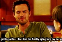Nick Miller / ...thy are my spirit animal...