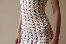 vestidos a crochet