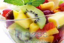 Fitness recepty - šaláty / Zdravé fitness recepty na prípravu šalátov.