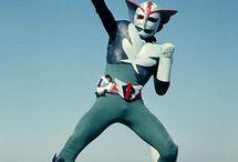 Japanese TV Heroes & monsters in my childhood