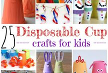 disposable cup craft