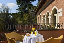 A Roman Villa / A stunning Roman villa that gives life to a charming 4-stars boutique hotel.