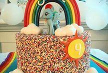 Saga 6 år / My little pony theme