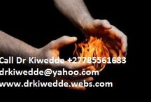 African Powerful Traditional Healer Dr Kiwedde +27785561683 / Having a long experience now, I can  not only communicate with the spiritual world, I can control spirits too.Through rituals I learned from my parents and grandparents, I am  able to ask spirits to grant wishes. That is what my services consist of.Tell me your most wanted wish and  I will ask  powerful spirits to grant it for you. I bring the positive energies you need to reverse this tendency and solve your problems,and   thanks to many years of experience  I will do much for you.