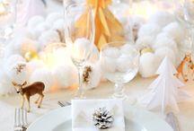 Decoration réveillon / Sélection pour des fêtes de fin d'année chics & féeriques !