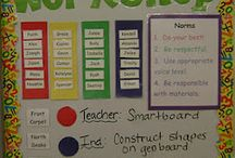 1st grade math centers / by Krista Wergin