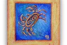 Oil ,Cancer,Crab, Zodiac Signs