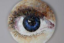 μάτια ψηφηδωτά