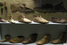 Viking age clothing - headgear, mittens and footwear