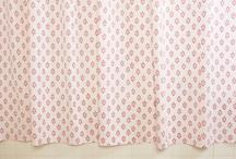 Shower Curtains For Girls / Designer Fabric Shower Curtain - Country Living Curtains - Shower Curtains For Girls