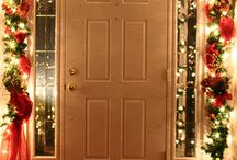 Christmas decoration for doors
