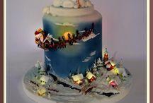 karácsonyt torták