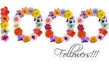 1000 followers!!!